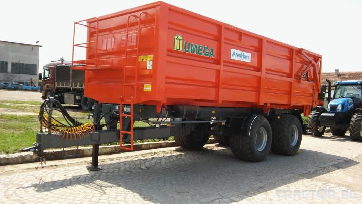 Ремаркета и цистерни Ремаркета Umega 0 - Трактор БГ